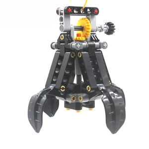 Image 2 - Building Blocks MOC Technic Parts  TECHNIC 4 Lifting Claws compatible with lego