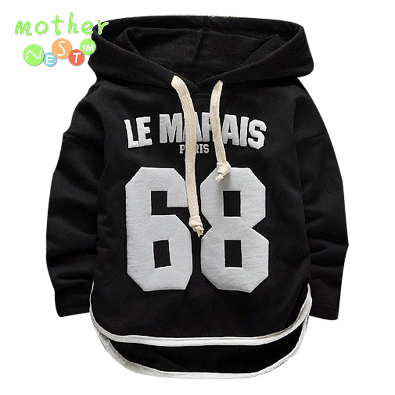 Good quality 2017 spring Baby Girls/Boys T Shirt Children Hooded T Shirt Infant/Newborn Casual Cotton Tees Kids Long Sleeve Tops
