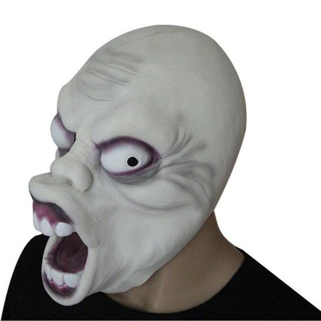 creepy halloween grimace wang nima scary mask horror
