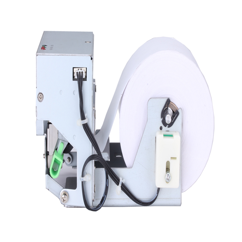 2 inch panel receipt printer with auto cutter high-performance thermal printing turnkey module 80mm paper diameter for kiosk ATM