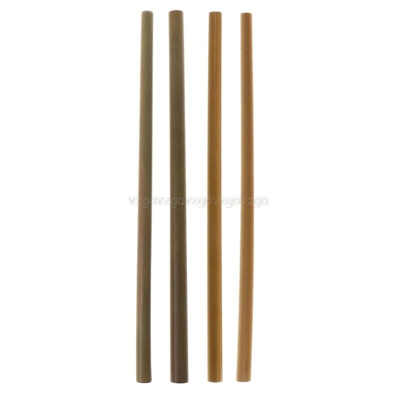 Natural Bamboo Straw Eco Friendly Reusable Straw Organic Bamboo Drinking Straws F20 19 Dropship