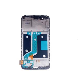 "Image 2 - 5.5 ""AMOLED תצוגה עבור Oneplus 5 A5000 OLED תצוגת LCD + מסגרת מסך מגע digitizer החלפת Oneplus 5 a5000 ערכת תיקון"