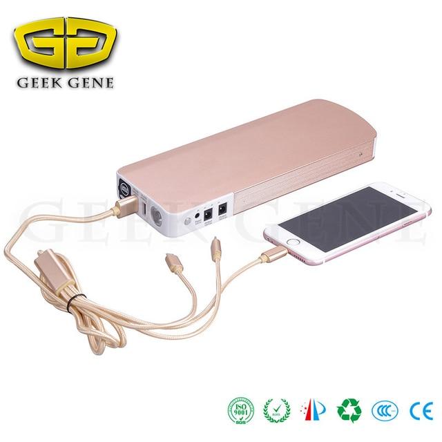 GeeK Gene Car Battery Jump Starter Power Bank Charging Units for Diesel Dizel Car Bigger Gasoline Auto Mobile Jump Leads