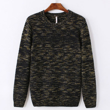 PORT&LOTUS Men Sweater Pullover Brand Clothing O-Neck Print Long Sleeve Pullovers Sweaters LSQF1523