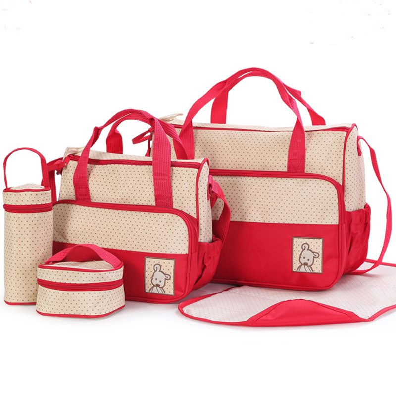 ФОТО Waterproof 5 pies Bolsa De Maternidade Para Bebe Carrinhos De Bebe Nappy Bags Maternity Baby Diaper Bags For  Blsa Maternidade