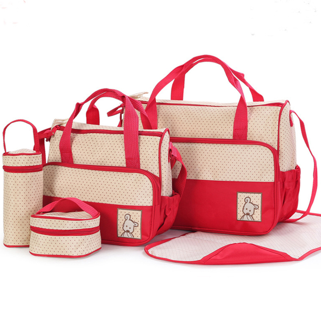 Waterproof 5 pies Bolsa De Maternidade Para Bebe Carrinhos De Bebe Nappy Bags Maternity Baby Diaper Bags For  Blsa Maternidade