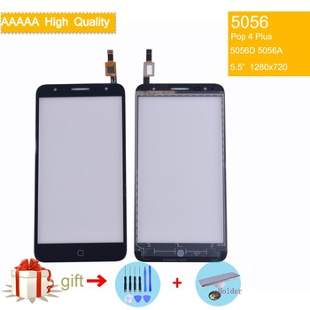 цена на For Alcatel One Touch Pop 4 Plus OT5056 5056 5056D 5056E 5056T Touch Screen Touch Panel Sensor Digitizer Front Glass Touchscreen