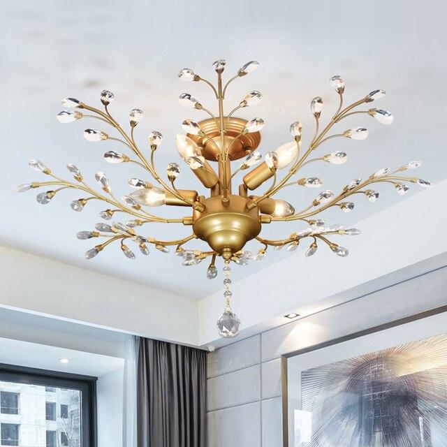 Modern Lustre Led Crystal Chandelier Lighting Ceiling Chandeliers Light Lamparas De Techo Hanglamp Suspension Luminaire Lampen 1