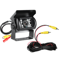 GISION 24V IR Night Vision Reverse Camera CMOS Waterproof Truck Review Parking 3 6MM