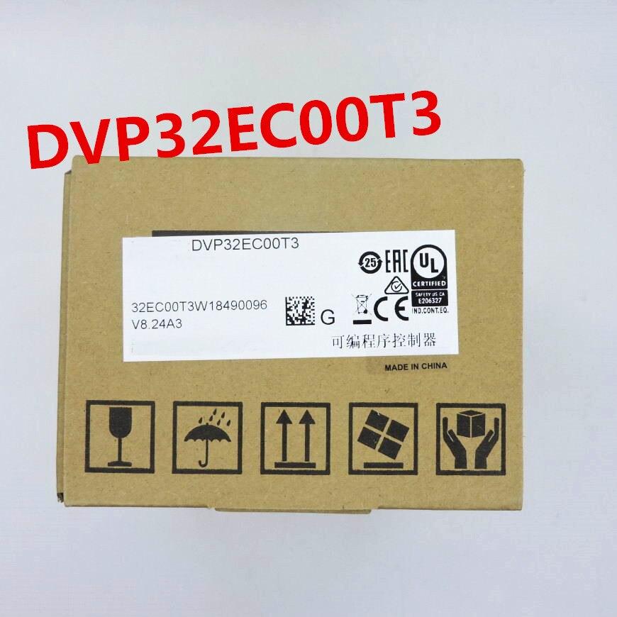 Original PLC controller DVP32EC00T3 PLC EC3 series 100-240VAC 16DI 16DO Transistor outputOriginal PLC controller DVP32EC00T3 PLC EC3 series 100-240VAC 16DI 16DO Transistor output