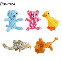 5Pcs/Set Dog Chew Toy Animal Rope Ball Pet Toy Cat Toy Teddy Golden Hair Dog Pet Supplies For Cats And Dogs
