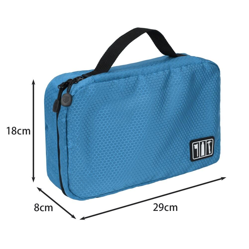 BAGSMART resepaketväskor Hand Portable Nylon Toalettsaker Väska - Väskor för bagage och resor - Foto 4