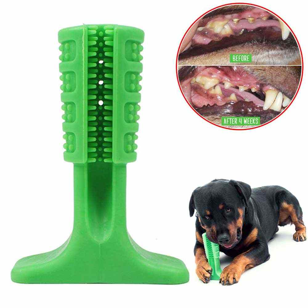 Dog Toy Dog Chew Toys Dog Toothbrush Pet Molar Tooth Cleaning Brushing Stick Doggy Puppy Dental Care Dog Pet Supplies