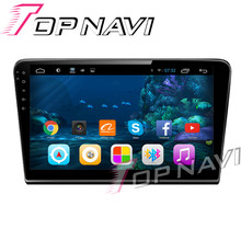 WANUSUAL 10.2′ Quad Core Android 6.0 Car GPS Navi for VW Bora 2013-Multimedia Radio Stereo NO DVD 1G+16G Capacitive Touch Screen