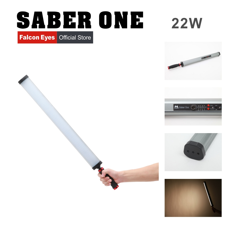 Falcon Eyes SA1 LED Video Light 22W High CRI  3200/5000/5500/8000 Temperatures Dimmable Power Output Handheld LED Light Stick цены онлайн
