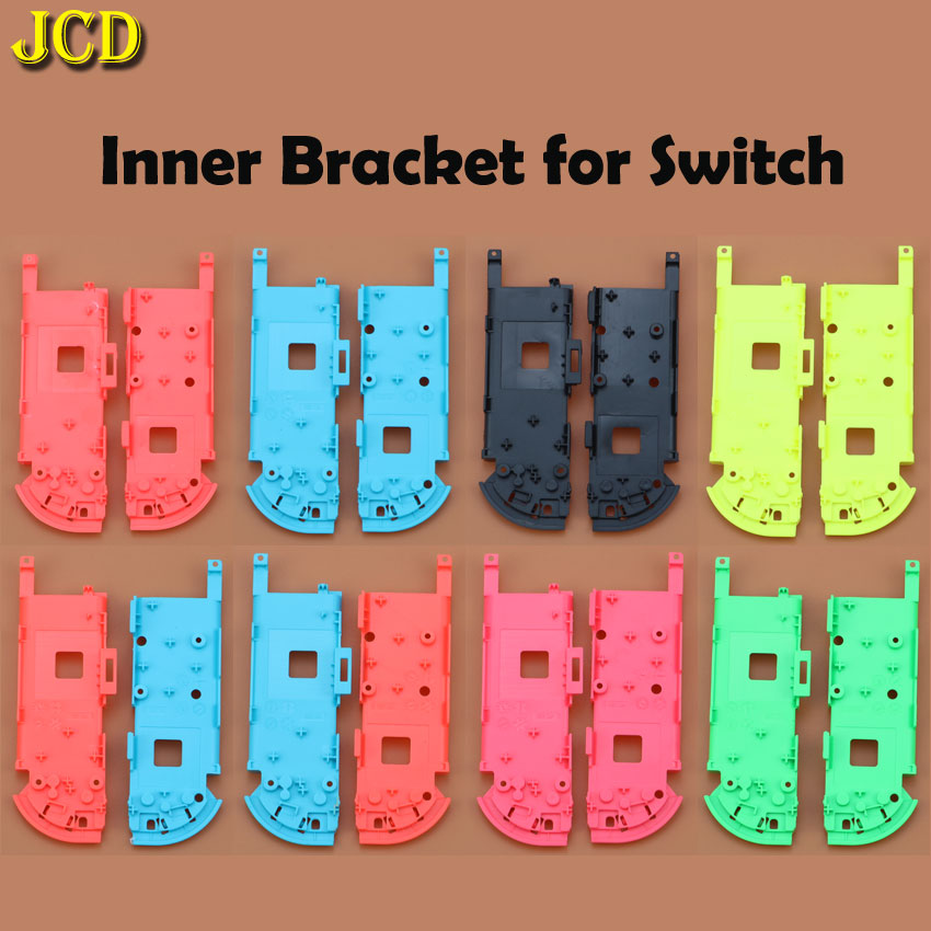 Image 3 - JCD Hard Plastic R L Housing Shell Case Cover for Switch NS NX Joy Con Controller for Joy Con Battery Bracket Handle Inner Frame-in Cases from Consumer Electronics