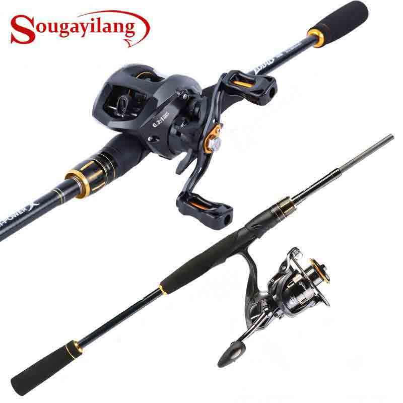 Baitcasting Spinning Fishing Rod Reel Combo - Fishing Pole Kit Set for Bass Carp Trout Boat Freshwater Saltwater Fishing Baitcasting Spinning Fishing Rod Reel Combo - Fishing Pole Kit Set for Bass Carp Trout Boat Freshwater Saltwater Fishing