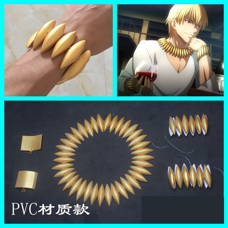 Fate/Zero Fate/EXTRA CCC Fate/stay Night Fate/Strange Fake Archer Gilgamesh Bracelet Earrings Necklace Cosplay Costume Props