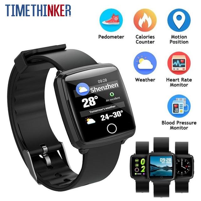 280e5b2a8 Timethinker BL89 Smart Watch Bracelet Men Women Sports Wristwatch Reloj  Blood Pressure Heart Rate Monitor pk