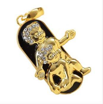 Best Selling Jewelry 12 Constellations USB Drive Flash 4GB 8GB 16GB 32GB 64GB Pendrive Pen Drive Memory Stick Disk On Key Gift