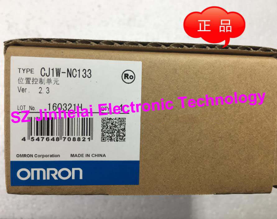 все цены на New and original  OMRON CJ1W-NC133  Position control unit онлайн