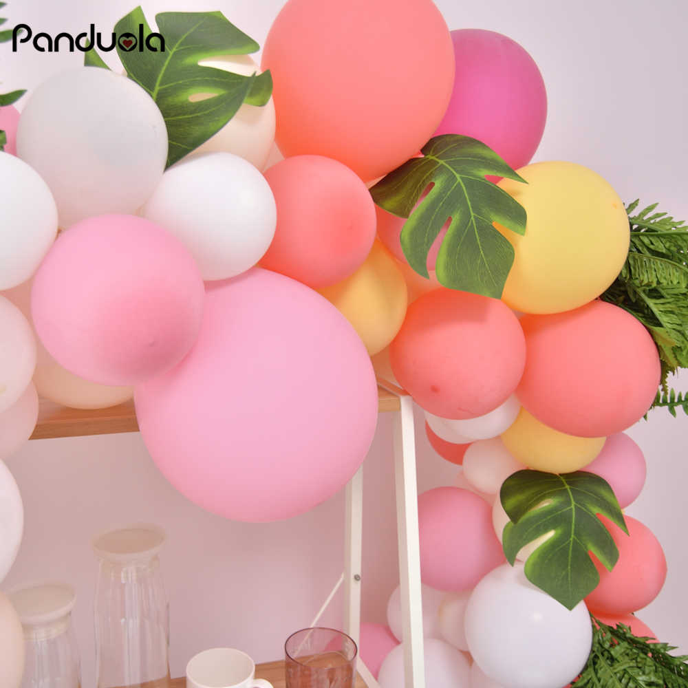 Balloons Birthday Decoration Adult Goods Tropical Party New Year Accessories Christmas Decorations For Home Globos