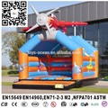 Plane Inflatable bouncer,funny mini aircraft model inflatable bouncer,aircraft jumping castle