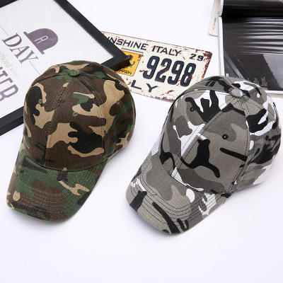 Camo Camouflage Military Hat Unisex Tactical Cap Snapback Hat Bone Shape Hat Trucker Army Air Force Flat Top Hat
