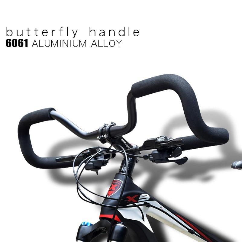 MTB Mountain Bike Handlebar 25.4mm 31.8mm Travel Bicycle Rest Handlebar Aluminum Alloy Bicycle Handlebar Bike Accessories