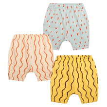 2017 summer season boys shorts youngsters informal printed quick child style cotton quick toddler yellow pink blue trousers kids garments