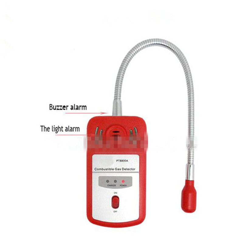 3PC Alarm Gas Analyzer Portable Combustible Gas Leak Detector Analizador Gases Determine Tester With Sound-light Alarm PT8800A