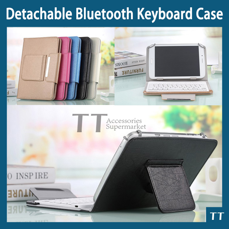 Universal Bluetooth Keyboard Case For lenovo A3300 A7-30 7 inch Tablet PC lenovo A7-30 A3300 Bluetooth Keyboard Case + touch pen universal 78 key wired keyboard case for 7 tablet pc black