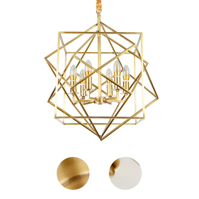 American postmodern personality all copper chandelier artistic originality of droplight sitting room dining-room lamp ledream contracted and creative personality sitting room dining room art glass chandelier american cherry branches pendent lamp