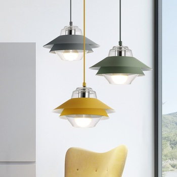 Luminaria de suspensión moderna LED para comedor, luces ...