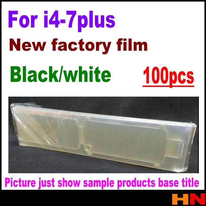 imágenes para 100 unids frente Película Protectora película Fábrica Para iPhone 4 4S 5 5S 5c/6 6 s 7 6 p 6sp 7 p 5.5 pulgadas Protector de Pantalla guardia