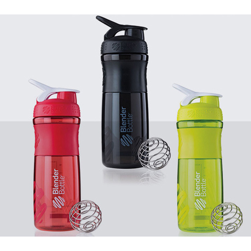 FeleCup Shaker Bottle Water Bottle Sport Whey Protein Powder Shaker Drinkware Fitness Running Training Portable Cup BPA Free