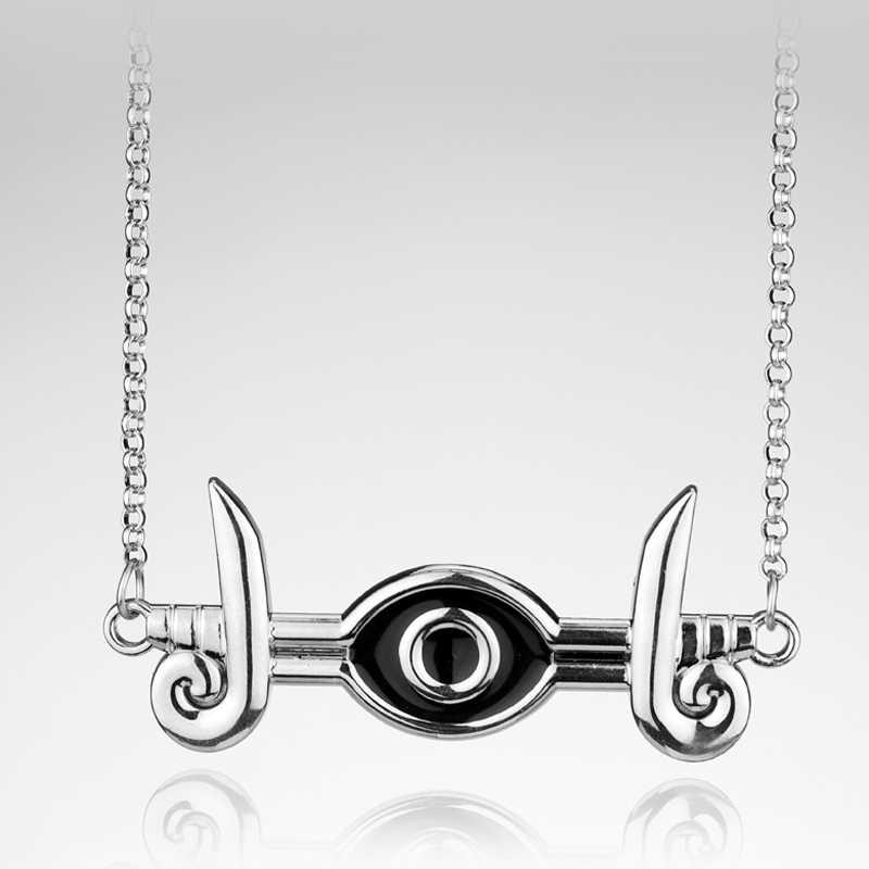 Anime Jewelry Yugioh Cosplay Pyramid Egyptian Eye Of Horus Yu-Gi-Oh Necklace Yami Bakura Ryo Millennium eye Necklace Gift