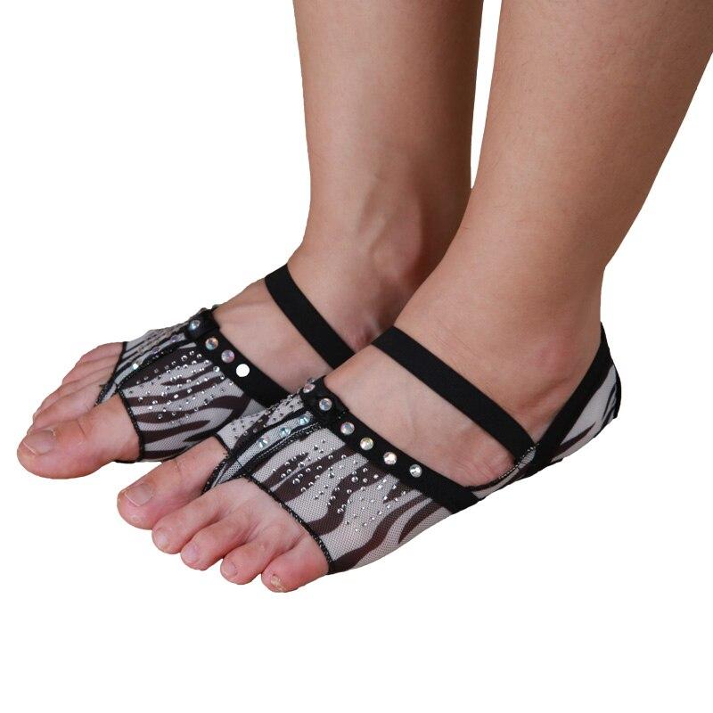 Ballet Dance Shoes Professional Ballet Flats Women Belly Dancing Foot Thong Dance Socks Accessories Shoe Toe Pads