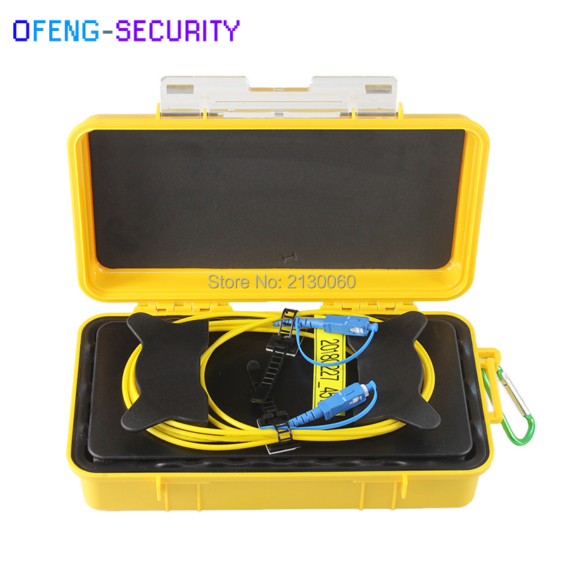 OTDR fiber optic Launch Cable Box SC UPC Single Mode 9/125um 1310/1550nm 1M OTDR launch cable boxOTDR fiber optic Launch Cable Box SC UPC Single Mode 9/125um 1310/1550nm 1M OTDR launch cable box
