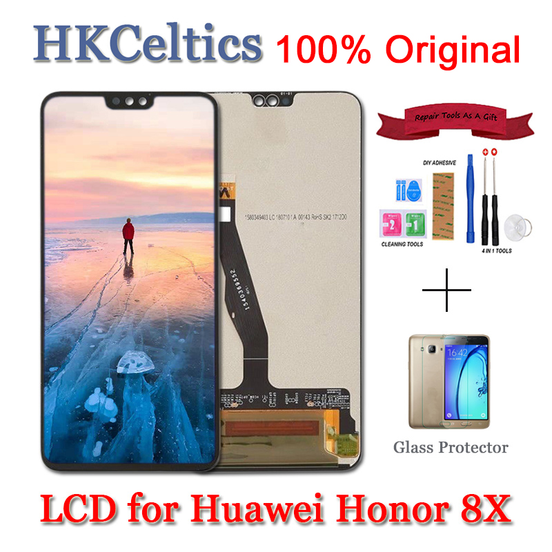 <font><b>Original</b></font> <font><b>Display</b></font> for Huawei <font><b>Honor</b></font> 8X LCD+Touch Screen Digitizer Assembly Replacement For HUAWEI <font><b>Honor</b></font> 8X LCD Honor8X <font><b>8</b></font> X Screen image