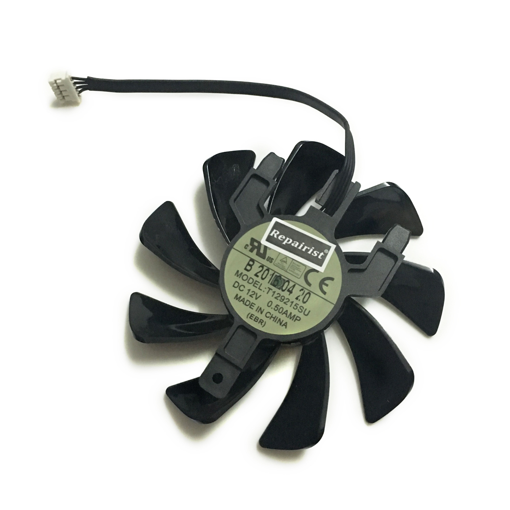 Sapphire RX 570 GPU Cooler Video Card Fan For Radeon Sapphire RX570 ITX Graphics Card Cooling
