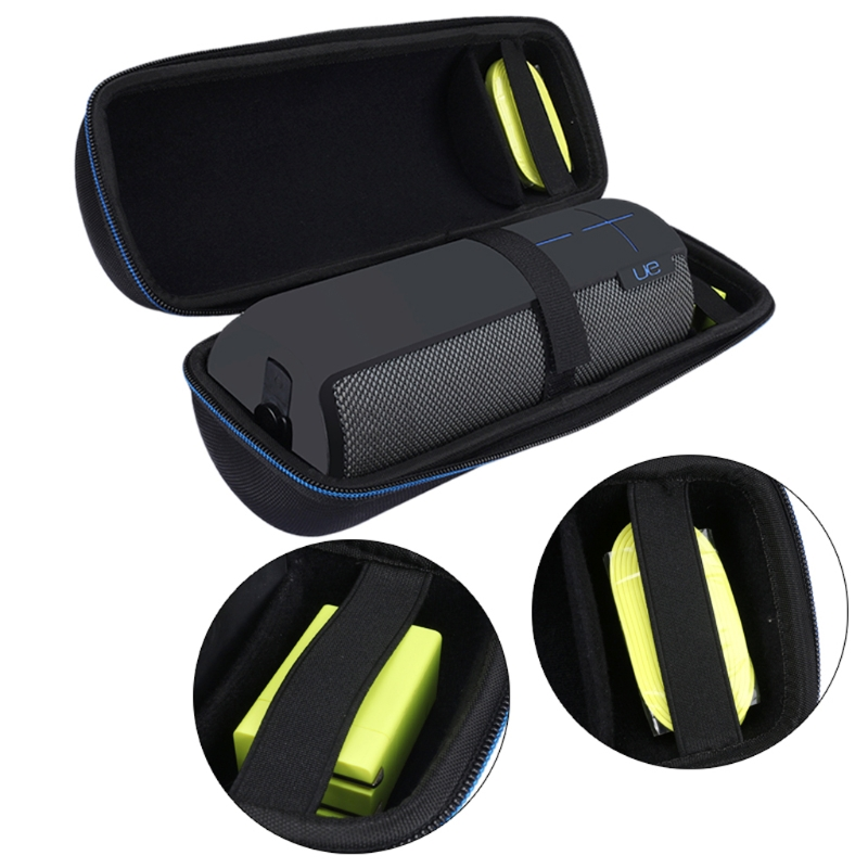 OOTDTY Traval Carry Case Storage Bag For JBL Charge 3 Logitech UE BOOM Bluetooth Speaker-M30