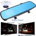 1 Set HD 720 3.5 Inch Dash Video Recorder Rearview Mirror Car Camera DVR Night Vision Dash Camcorder