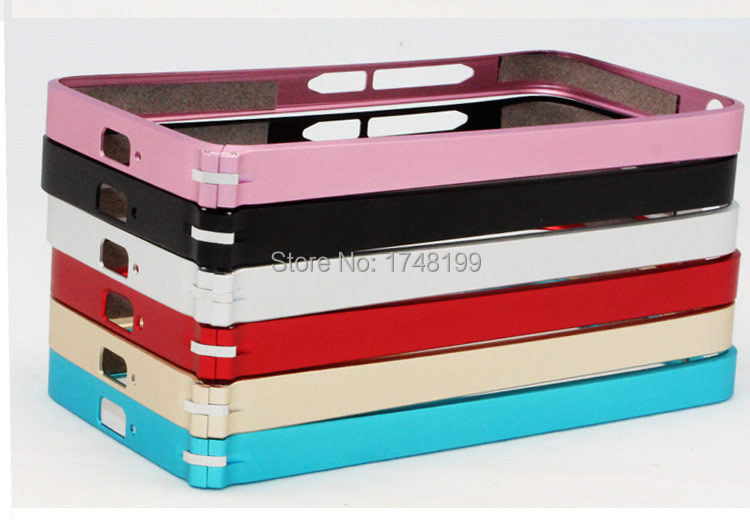 10PCS/PACK XIAOMI M2 buckle metallic bumper frame mobile phone cover mobile phone bag mobile phone accessories