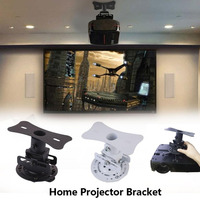 Universal 360 Degree LED HD   Projector   Ceiling Mount Wall Bracket Holder for   Projector   Beamer Hanging Lift   Accessories
