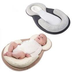 Портативная детская кроватка для новорожденных, складная кровать для путешествий, многофункциональная колыбель с плоской головкой, детски...