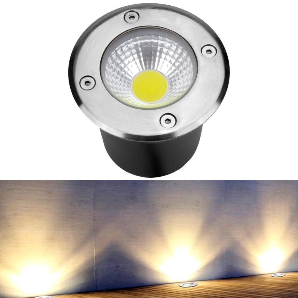 Inventive New Outdoor Led Underground Light Ip68 3w 5w Cob Waterproof Inground Garden Path Floor Buried Yard Spot Landscape 85-265v Dc12v Lights & Lighting Led Underground Lamps