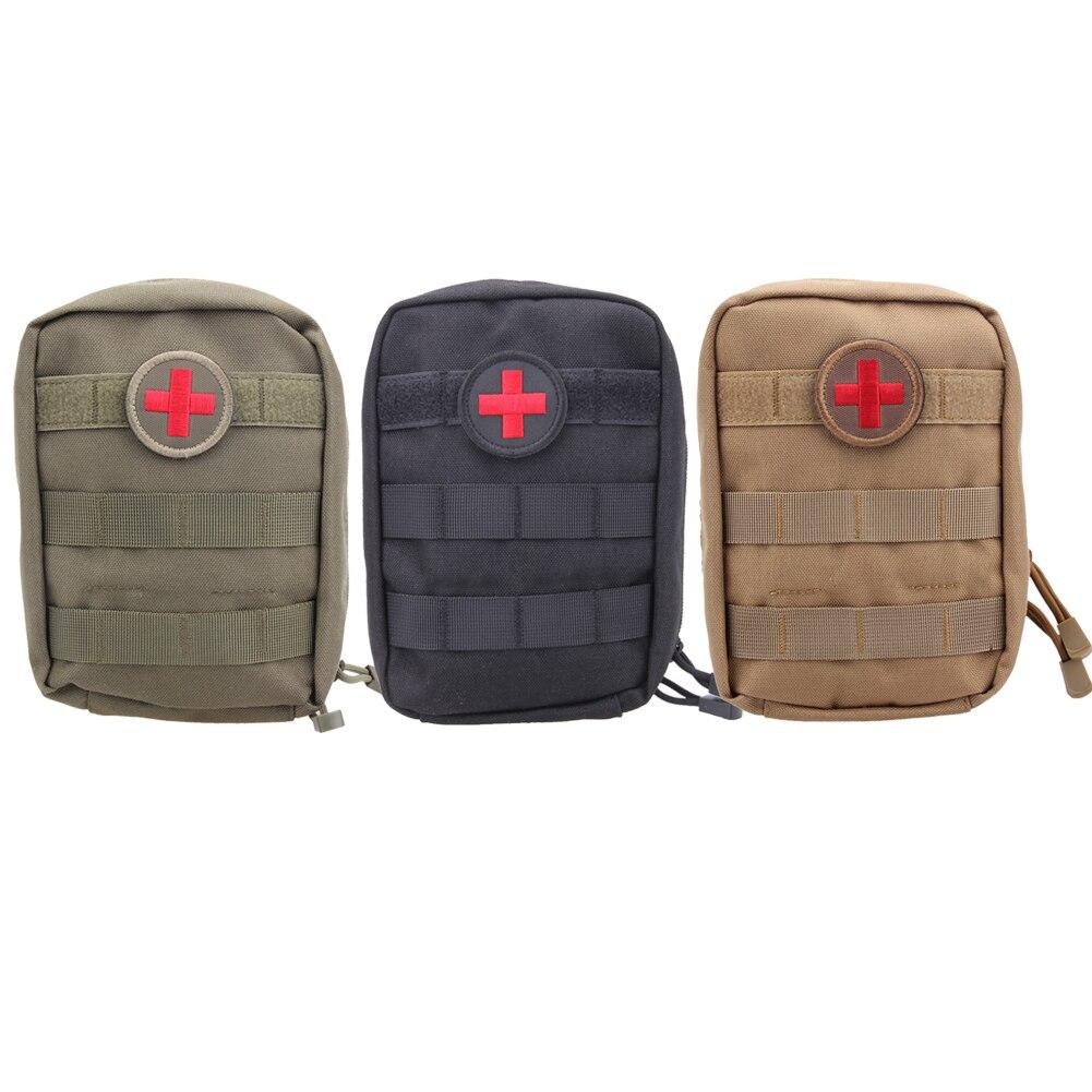 Prix pour Tactical First Aid Kit Équipement de Survie Sac Militaire Molle Médical EMT Poche Extérieure D'urgence Pack