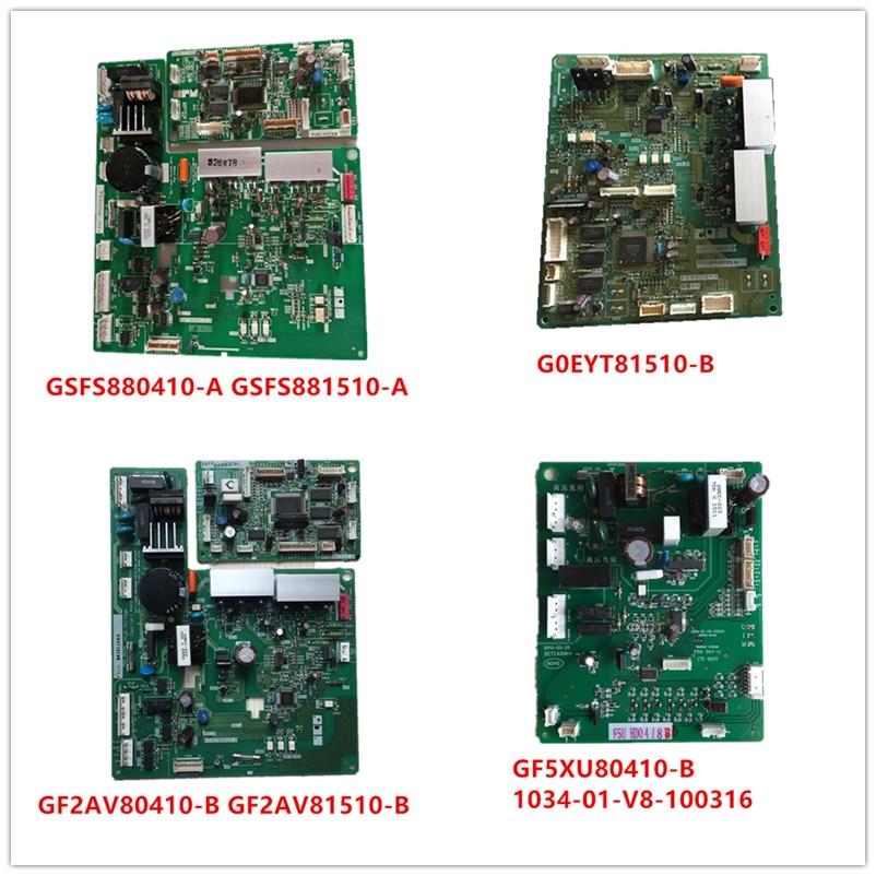 GSFS880410-A| GSFS881510-A| GF5XU80410-B 1034-01-V8-100316| G0EYT81510-B| GF2AV80410-B| GF2AV81510-B Used Good Working