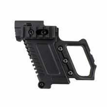 Tactical Pistol Carbine Kit Quick Reload Air Guns Mount for Glock17 G18 G19 Series Hunting Shooting Gun Accessories tactical pistol carbine kit glock mount for cs g17 18 19 gun accessories load on equipment